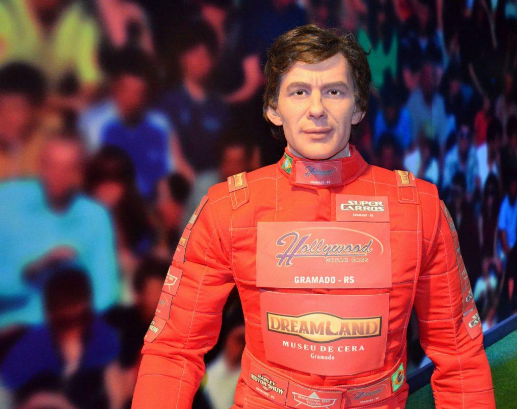 Ayrton Senna - Foto Adilson Borges
