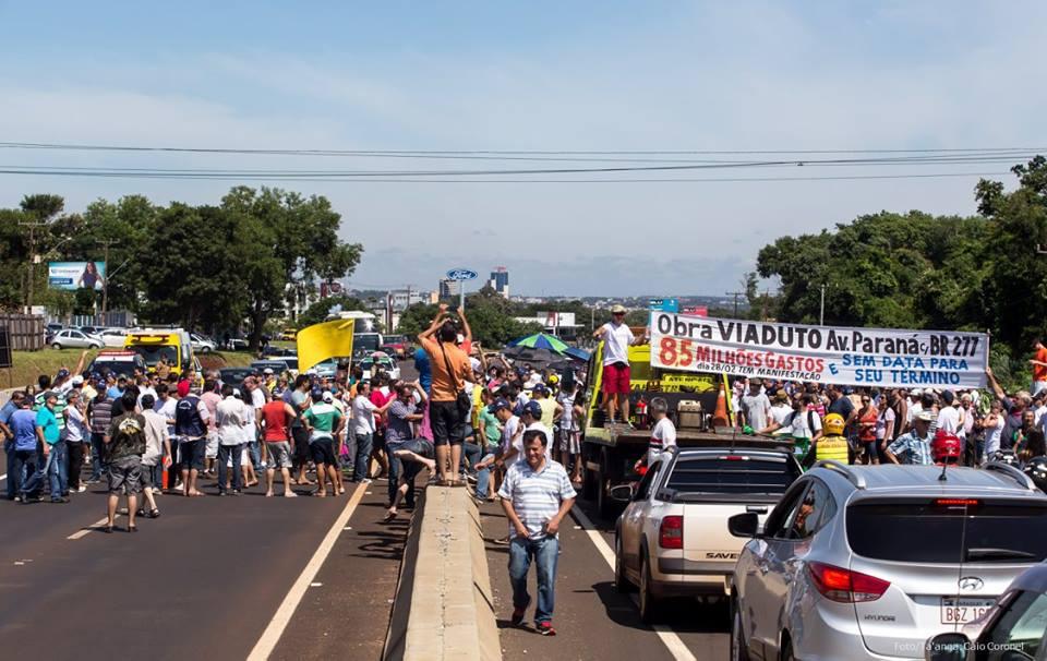 trincheira-protesto
