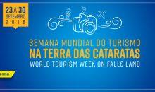 Participe da Semana Mundial do Turismo